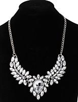 abordables -Mujer Gota Collar  -  De Gran Tamaño Moda Blanco 51cm Gargantillas Para Boda Fiesta de Noche