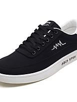 abordables -Homme Chaussures Tissu Printemps / Automne Semelles Légères Basket Noir / Noir / blanc / Noir / Rouge