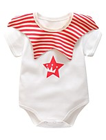 cheap -Baby Striped Short sleeves Cotton Romper