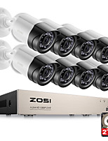 cheap -ZOSI® HD-TVI 8CH 1080P 2.0MP Security Cameras System 8*1080P 2000TVL Day Night Vision CCTV Home Security 2TB HDD