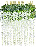 abordables -Fleurs artificielles 1 Une succursale style pastoral Plantes Guirlande et Fleur Murale