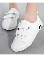 cheap -Girls' Boys' Shoes Canvas Spring Fall Comfort Sneakers for Casual White Black Khaki