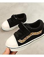 abordables -Fille Garçon Chaussures Polyuréthane Printemps Automne Confort Basket pour Décontracté Noir Marron Rose