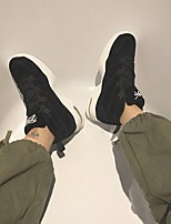 cheap -Men's Shoes PU Winter Comfort Sneakers White / Black