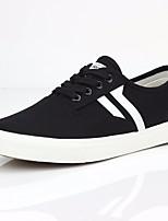 Недорогие -Муж. обувь Полотно Лето Зима Удобная обувь Кеды для Повседневные Черный Красный Wit En Groen