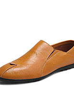 cheap -Men's Shoes Customized Materials Spring Fall Comfort Loafers & Slip-Ons for Casual Office & Career Black Yellow