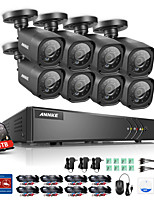 cheap -ANNKE® 720P 8ch CCTV Security Cameras System with 1TB Hard Drive