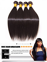 cheap -Brazilian Hair Straight Human Hair Weaves 6-Pack Waterfall Soft 100% Virgin High Quality Hot Sale Natural Color Hair Weaves Human Hair