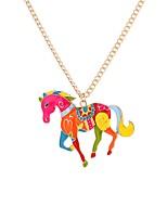 Недорогие -Муж. Ожерелья с подвесками  -  Мода Цвет радуги 65 cm Ожерелье Назначение Halloween, Школа