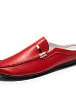 abordables -Homme Chaussures Similicuir Printemps Eté Chaussures de plongée Confort Mocassins et Chaussons+D6148 pour Décontracté De plein air Blanc