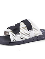 cheap -Men's Shoes PVC Leather Summer Comfort Slippers & Flip-Flops for Casual White Black Red