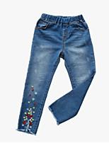 economico -Bambino Da ragazza Jacquard Pantaloni