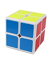 cheap -Rubik's Cube 1 PCS Shengshou D0893 Rainbow Cube 2*2*2 Smooth Speed Cube Magic Cube Puzzle Cube Glossy Fashion Gift Unisex