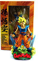 cheap -Anime Action Figures Inspired by Dragon Ball Son Goku PVC 23cm CM Model Toys Doll Toy