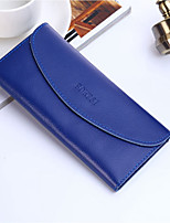 cheap -Women's Bags PU Leather Wallet Buttons for Outdoor Purple / Fuchsia / Royal Blue