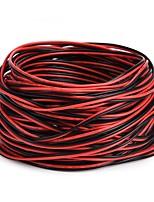cheap -ZDM® 1pc 2000cm LED Strip Extension Line Strip Light Accessory Electrical Cable Plastic