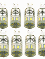 abordables -8pcs 3W 200lm E14 G9 LED à Double Broches T 20 Perles LED SMD 2835 Décorative Blanc Chaud Blanc Froid 220-240V