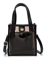preiswerte -Damen Taschen PVC / PU Bag Set Reißverschluss für Normal Schwarz / Silber / Rosa