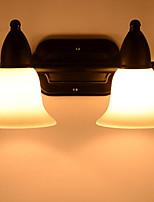 Недорогие -Антибликовая Винтаж Освещение ванной комнаты Назначение Металл настенный светильник 220-240Вольт 20W