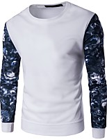 cheap -Men's Active Basic Sweatshirt - Geometric