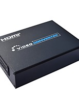 abordables -Factory OEM SNSCART010 2 HDMI 1.3 HDMI 1.4 SCART HDMI 1.3 HDMI 1.4 2.5mm Audio jack 3,5 mm Femelle - Femelle 1080P 10 Gbps 10.0M (30ft)