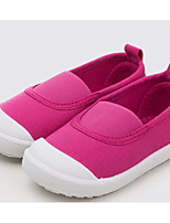 cheap -Girls' Boys' Shoes Canvas Spring Fall Comfort Loafers & Slip-Ons for Casual White Dark Blue Fuchsia