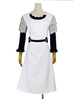 cheap -Inspired by Tokyo Ghoul Cosplay Anime Cosplay Costumes Cosplay Suits Other Long Sleeves Dress Waist Belt Headwear For Unisex