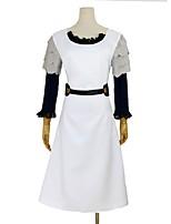 abordables -Inspiré par Tokyo Ghoul Cosplay Manga Costumes de Cosplay Costumes Cosplay Autre Manches Longues Robe Ceinture de Tour de Taille Coiffure