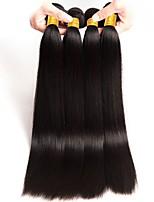 cheap -Brazilian Hair Straight Human Hair Extensions Human Hair Weaves Extention / Hot Sale Natural Black All