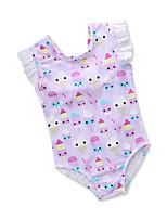 cheap -Kids Toddler Girls' Print Fruit Sleeveless Swimwear