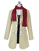 cheap -Inspired by Dangan Ronpa Cosplay Anime Cosplay Costumes Cosplay Suits Other Long Sleeves Coat Vest Shirt Skirt Scarf For Unisex