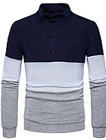 cheap -Men's Active Long Sleeve Cardigan - Solid Colored V Neck