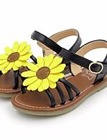 Недорогие -Девочки Обувь Искусственная кожа Весна & осень / Лето Удобная обувь Сандалии для Золотой / Черный / Розовый