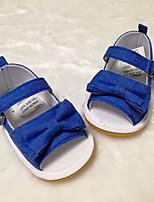 Недорогие -Мальчики / Девочки Обувь Ткань Лето Удобная обувь / Обувь для малышей Сандалии для Белый / Синий / Розовый