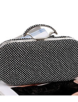 cheap -Women's Bags Polyester Evening Bag Beading for Event / Party Casual All Seasons Gold Black Silver