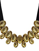 cheap -Women's Drop Collar Necklace  -  Vintage Oversized Gold White Dark Green 87cm Necklace For Evening Party Carnival