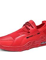 Недорогие -Муж. обувь Сетка / Тюль Лето Удобная обувь / Светодиодные подошвы Кеды Беговая обувь / Для пешеходного туризма / Для тенниса Черный /