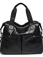 cheap -Women's Bags Other Leather Type Shoulder Bag Zipper Black / Red