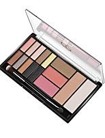 baratos -Makeup 3pcs Sombra de olho Pró Combinação Sombra para Olhos / Sombra Á Prova d'água Colorido Maquiagem Esfumada / Maquiagem de Festa /