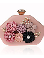 cheap -Women's Bags PU Evening Bag Appliques for Wedding / Event / Party Red / Blushing Pink / Fuchsia
