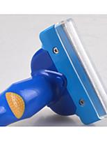 abordables -Chiens Chats Nettoyage Peignes Etanche Portable Boîtier Inclus Bleu