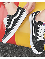 cheap -Unisex Shoes Canvas Spring / Fall Comfort Sneakers Black