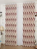 abordables -Rideaux Tentures Salle de séjour Moderne Coton / Polyester Imprimé