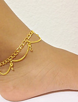 cheap -Anklet - Vintage Gold For Daily / Holiday