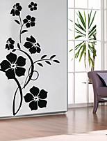 baratos -Decalque Autocolantes de Parede Decorativos - Autocolantes de Aviões para Parede Floral / Botânico Reposicionável Removível