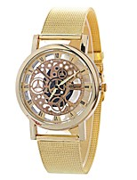 cheap -Women's Quartz Fashion Watch Chinese Large Dial Alloy Band Casual Fashion Silver Gold