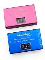 Недорогие -DC-4S 2-4S Li-poly/Li-ion Battery Balance Charger 2pcs батарея Металл