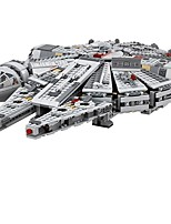 cheap -Millennium Falcon Outer Space Ship Building Blocks 1381pcs Compact Design Classic Theme Toy Toy Gift