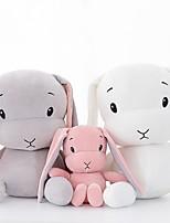 Недорогие -Rabbit Животный принт Мягкие и плюшевые игрушки удобный Милый Подарок 1pcs