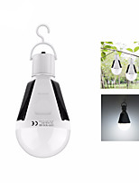 cheap -12W Solar LED Bulb Lantern Rechargeable Sensor Charge Lanterns & Tent Lights LED 1 Mode Portable / Lightweight Camping / Hiking / Caving
